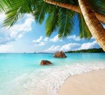 Anse Lazio beach on Praslin island in Seychelles